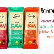 Raw batoniki – Vitanella (Biedronka)