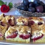 Maślane ciasto ze śliwkami – proste i pyszne!