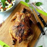 Kurczak faszerowany mięsem mielonym i pieczarkami