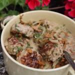 Klopsy w sosie grzybowo – koperkowym