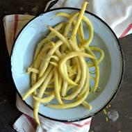 Jak ugotować fasolkę szparagową żółtą ?