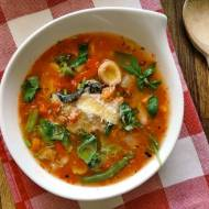 Wtorek: Pieczone minestrone instant ze słoika