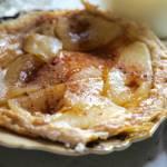 Omlet biszkoptowy z gruszkami i cynamonem