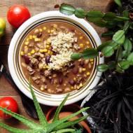 Szybka zupa meksykańska z quinoą