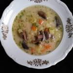 Zupa pieczarkowa z ziemniakami
