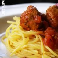 Spaghetti z pulpecikami (LOW FODMAP, gluten free, lactose free)
