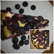 z serkiem i owocami -ciasto...torta con frutta