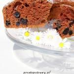 Ciasto kakaowe z aronią