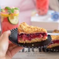 Krucha tarta z owocami bezą i kruszonką! 5 zasad idealnie kruchego ciasta.
