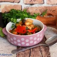 Gulasz warzywny z kurczakiem