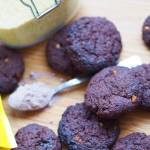 Ciasteczka brownie z kaszy jaglanej