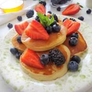 Puszyste pancakes z ricotty (Pancakes soffici alla ricotta)