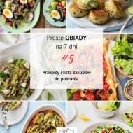Jedzenie do pracy na zimno - Proste obiady na 7 dni # 5 (PDF do pobrania)