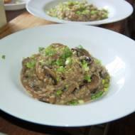 Pieczarkowe risotto