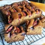 Szybkie pełnoziarniste ciasto ze śliwkami-HIT!