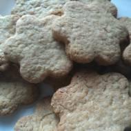 Kruche ciasteczka owsiano-orzechowe