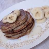 Pancakes owsiane z bananami