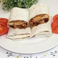 Tortille z kurczakiem i suszonymi pomidorami