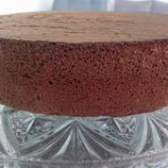Biszkopt kakaowy - rzucany bez proszku do pieczenia