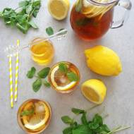 Cytrynowa ice tea (Ice tea al limone)