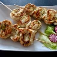 Drobiowe ślimaczki z grilla