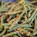 Fasolka szparagowa z bułką tartą (do obiadu)