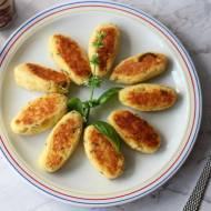 Krokiety serowo-ziemniaczane z bazylią i kminkiem
