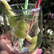 Mrożone winogrona, czyli kostki lodu inaczej