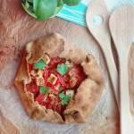 Tarta z pomidorami I cukinią