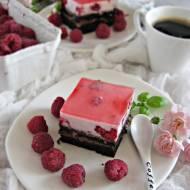 Ciasto malinowy ogród