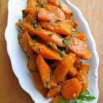 Duszona marchewka (z cebulą i curry)