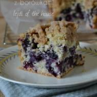 Ciasto muffinowe z borówkami (Blueberry Muffin Cake)...