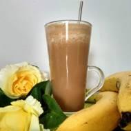 Kawa mrożona bananowa.
