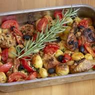 Zapiekanka mięsno-pomidorowa