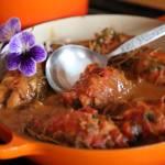 Roladki z kurczaka z frszem z suszonymi grzybów