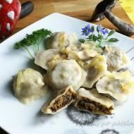 Pierogi z mięsem i grzybami