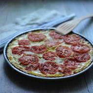 Tarta z cukinią, ricottą i pomidorami