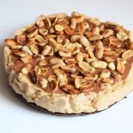 Ciasto SNICERS - wegańskie, bezglutenowe, bez pieczenia :)