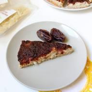 Ciasto z kremem kokosowym, nasionami chia i śliwkami + KONKURS!