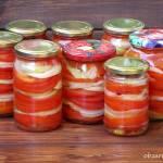 Sałatka z pomidorów na zimę