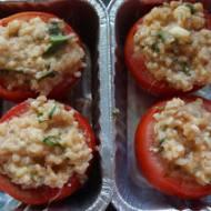 Faszerowane pomidory idealne na grilla lub do piekarnika