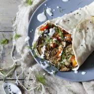 Tortilla z grillowanymi warzywami