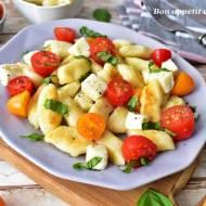 Kopytkowe caprese -obiad w stylu polsko-włoskim