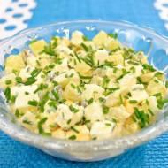 Sałatka z ananasem, jajkiem i serem feta + film