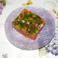 Smaczne pomidory w galarecie