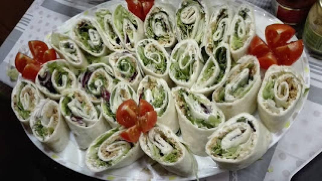 Roladki z Tortilli I