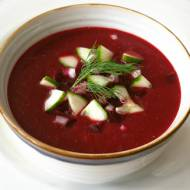 Buraczkowe gazpacho