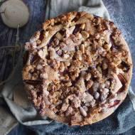 Ciasto ze śliwkami i karmelizowanymi migdałami / Plum and candied almond cake