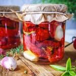 Suszone pomidory w oleju (do słoików)