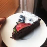 Czekoladowe ciasto z dwóch składników - bez glutenu, bez laktozy, LOW FODMAP
